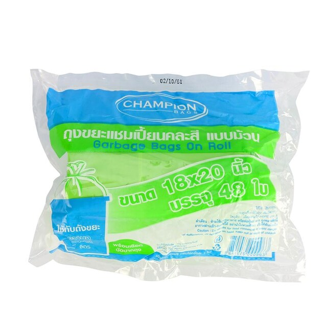 Champion Garbage Bags Asst. Colors