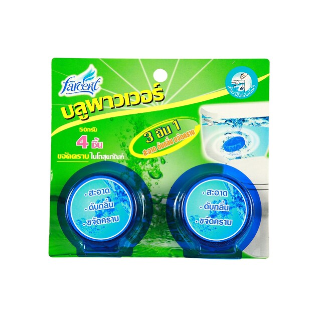 Farcent JS-9014 Blue Power Toilet Stain Products 4/Pack
