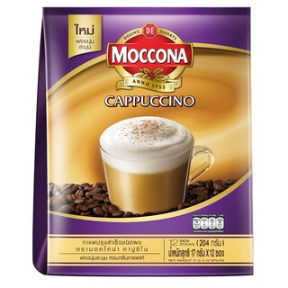 3in1 Cappuccino Coffee 25g. (12/Pack) Moccona Trio