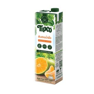 Sai Nam Phueng Orange Juice 100% 1 Liter ทิปโก้