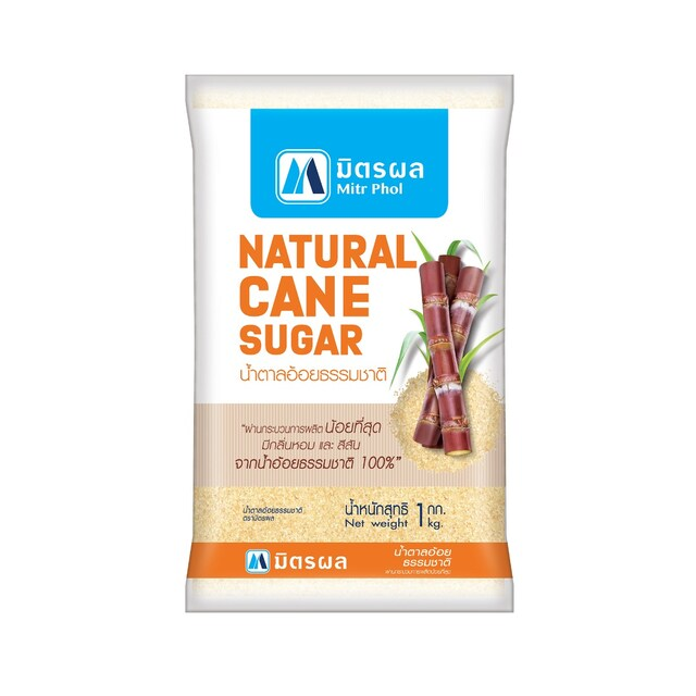 Natural Cane Sugar 1Kg. มิตรผล