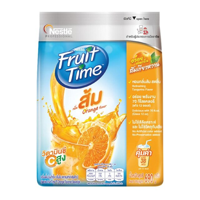 Orange Juice 690 g. Nestle Fruit Time