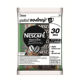 Cafe 3 in 1 Blend And Brew Espresso Roast 26.5g. (Pack/30) เนสกาแฟ