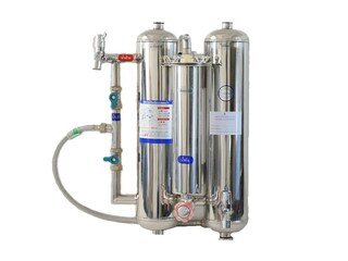 Water Filter Stainless Steel 3 System(Carabon + Resin + ceramic ) Rwc03