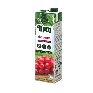 Red Grapes juice 100% 1 Liter ทิปโก้