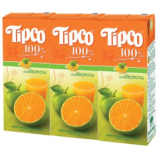 Tipco 100% Fruit Juice (3/Pack)