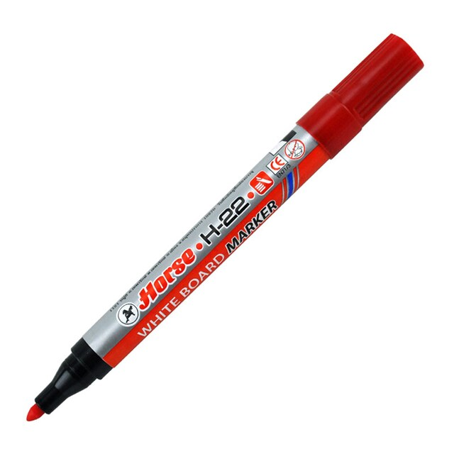 Whiteboard Marker (6/Pack) Colors. Horse H-22
