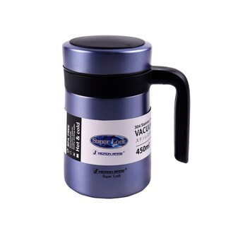 Micronware Stainless Steel Bottle 450 ml. blue