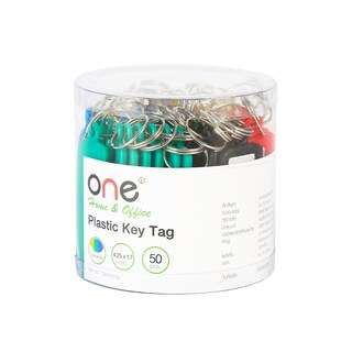 Plastic Key Tag ONE CW-015-50