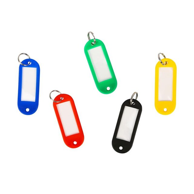 ONE Plastic Key Tag KT-50 Assorted 50/Pack