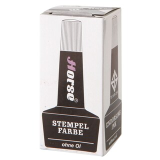 Horse Stamp Pad Refill Ink 28 cc.