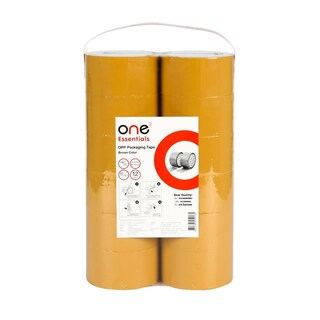 OPP Tape 48mm.x45y (12/Pack) Brown ONE