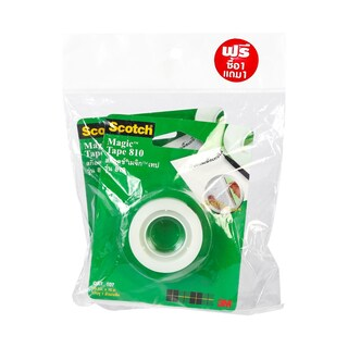 "Scotch CAT107 Magic 3/4""x15m. Tape Blister Pack1Free1"