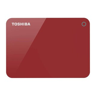 Toshiba HDTC920AR3AA Portable Hard Drive 2TB Red