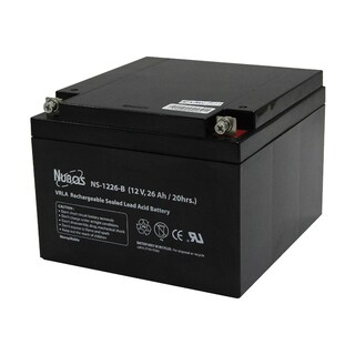 Battery 12V 26Ah Leonics NS-1226-B
