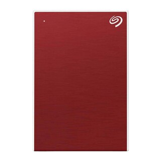 Seagate STHN1000403 Backup Plus Slim External Harddisk 1TB Red
