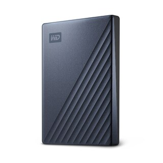 External Harddisk WD My Passport Ultra 4TB Blue