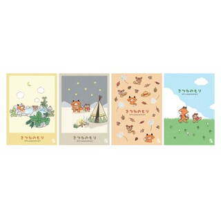 Double A Notepad B5 80 gsm. 4 Books/Pack