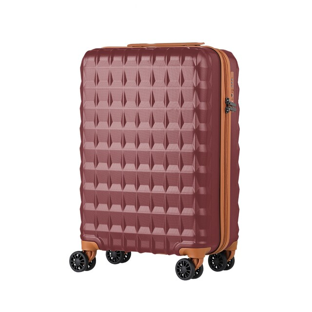 "LUGGAGE LEGEND WALKER 5203-48 SIZE 20"" WINE RED"