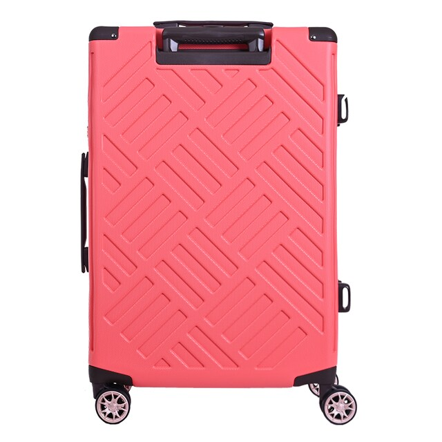 "LUGGAGE LEGEND WALKER 5204-59 SIZE 23"" PINK"