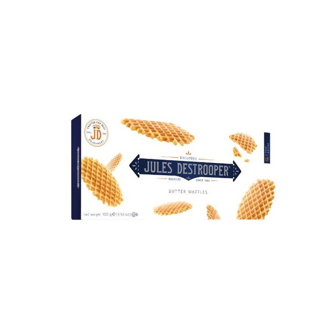 Jules Destrooper Wafer 100g. 12 Box/Pack