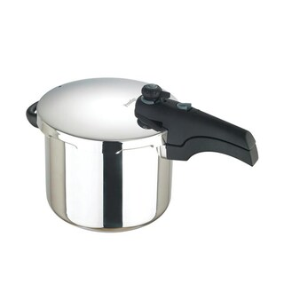6L. Stainless Steel Pressure Cooker