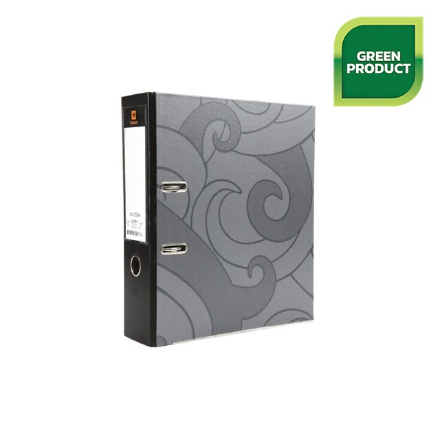 Lever Arch File A4 3-Inch Spine Black Elephant 120