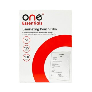 Laminating Pouch Film A4 125 MC. ONE Essentials