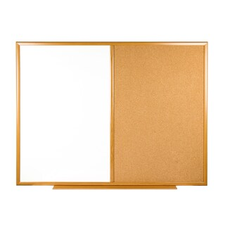 Whiteboard And Cork Board ONE