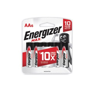 Battery AA (6 Piece) Energizer Max