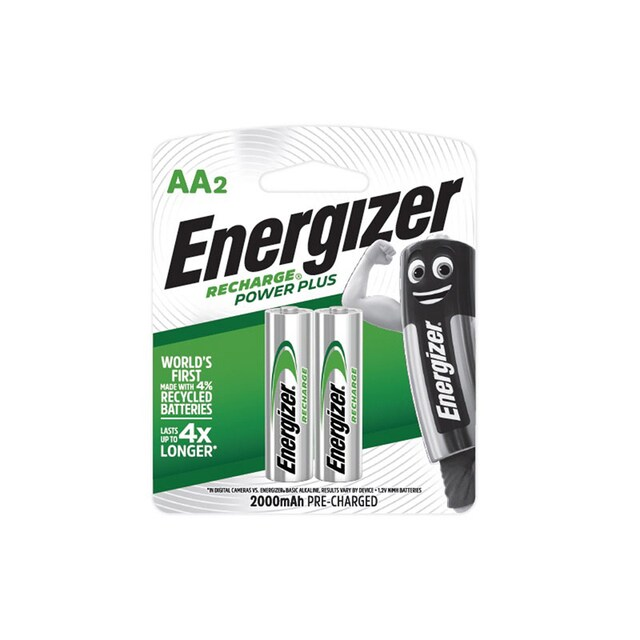 Rechageable AA Battery 2000mAh (2 Piece) Energizer NH15