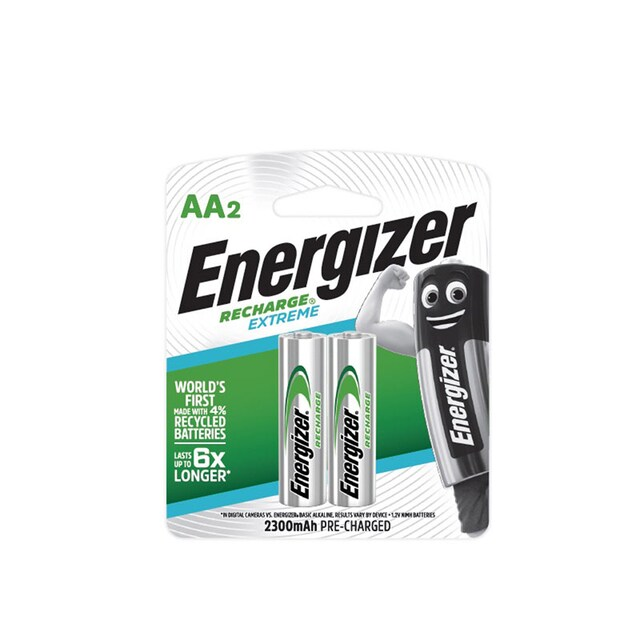 Energizer NH15 Rechargeable Batteries AA 2300mAh (2 Piece)