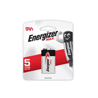 522-BP1 Alkaline Battery 9V Energizer Max