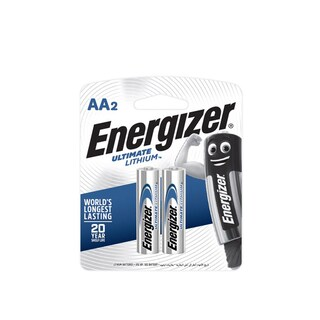 Lithium Battery AA ( 2 Piece) Energizer L91-RP2