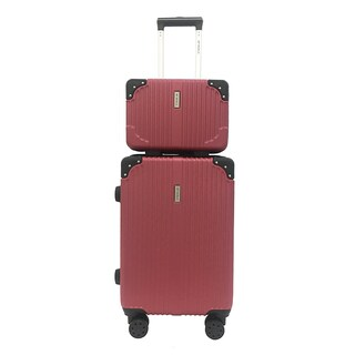 BP WORLD Luggage Set Fantastic 8059 Size 13 Inch and 20 Inch Red