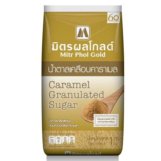Caramel Granulated Sugar 1 kg. Mitr Phol Gold