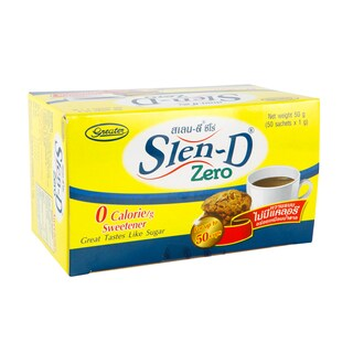 Sweetener Yellow (50/Box) Slen-D Zero