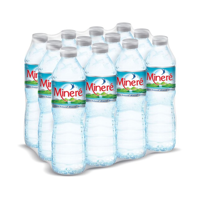 Minere Mineral Water 600 ML.