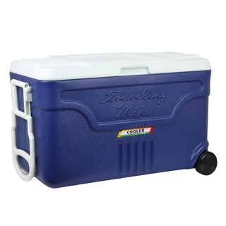 Ice Bucket With Castors 40Liter Asst. Colors KEEP IN RW0340