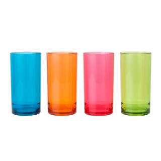 Tumbler (4/Pack) Asst. Colors Basket 9650