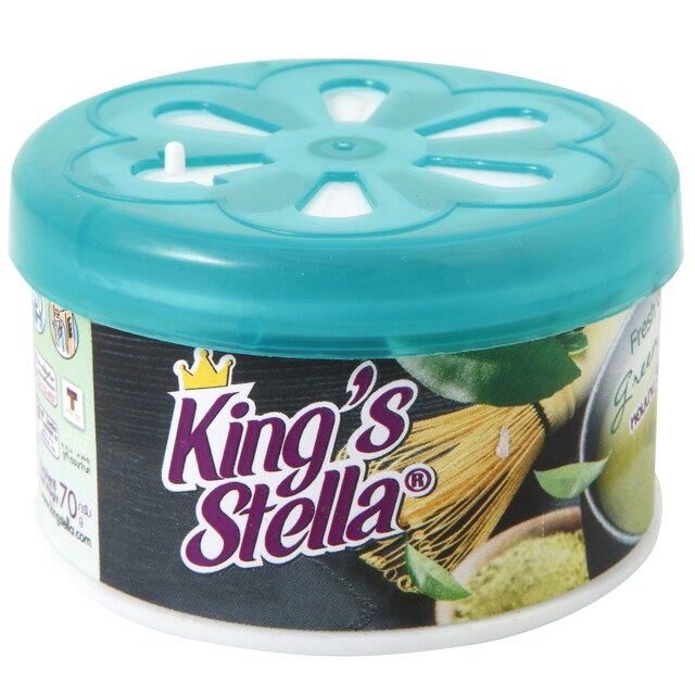 Kings Stella Air Refreshing Gel Green Tea 70g.