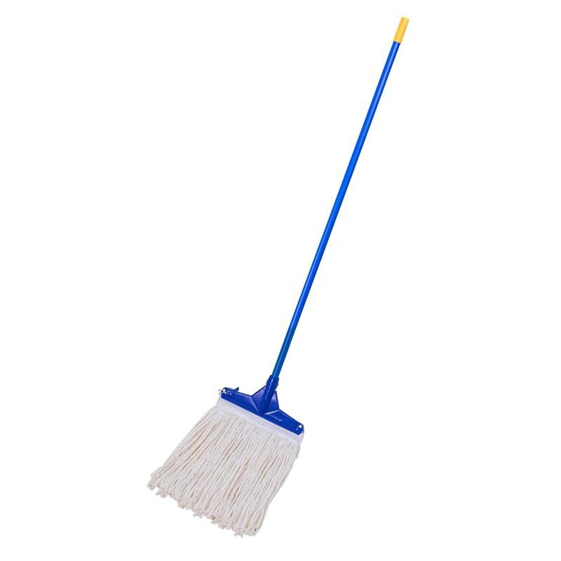 10 Inch Cotton Mop Bluewhite Supercat Officemate