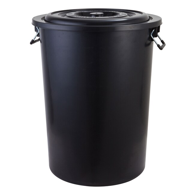 Plastic Bucket 181.60 Lit Black Basket 320+A