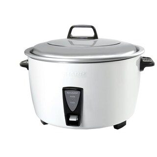 10 Liter Rice Cooker White SHARP KSH-D1010