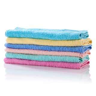 "Towel Cloth 12x12"" (12/Pack) Asst. Colors THANAPAND SS120D"