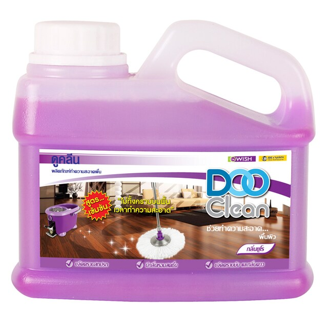 Floor Cleaner 500 ml. Purple ดูคลีน