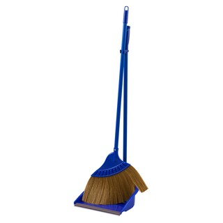 NCL Dust Plastic And Broom Blue
