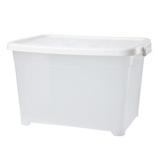 Mobile Plastic Box 67x48x41.5 ซม. 85 ลิตร White JCJ 5115