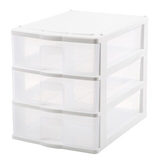 3 dish Mini Drawer White JCJ 2823