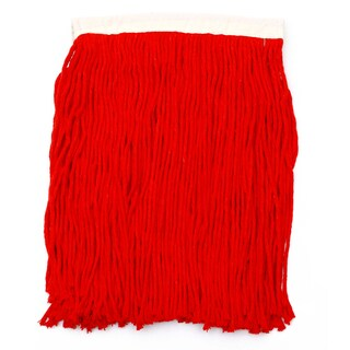 """10"""" Red Cotton Mop Spare SUPERCAT"""